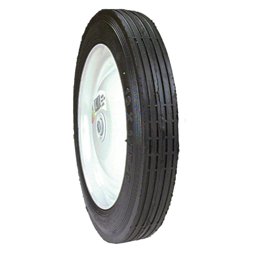 10 in. X 1.75 in. Steel Centered Wheel