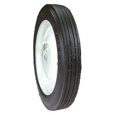 10 in. X 1.75 in. Steel Centered Wheel