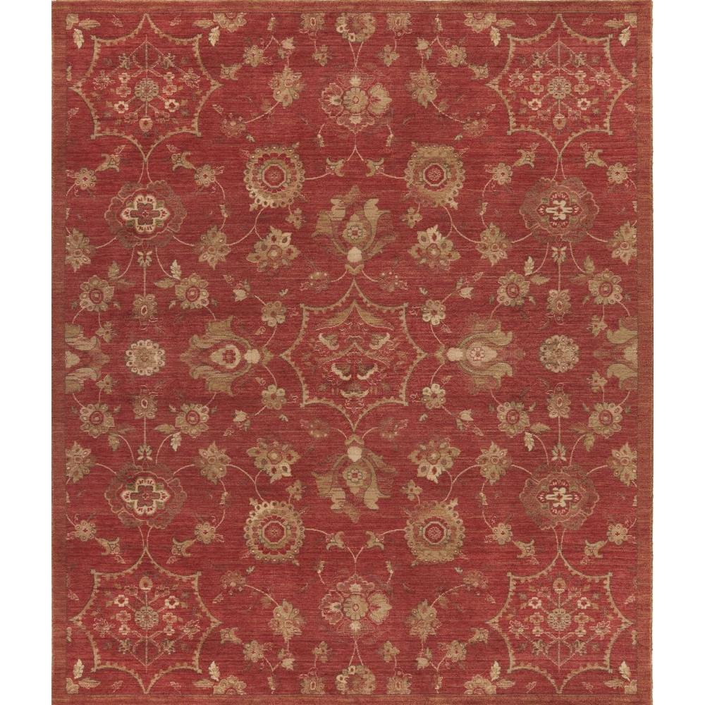 Dahlia Red 3 ft. x 5 ft. Indoor Area Rug