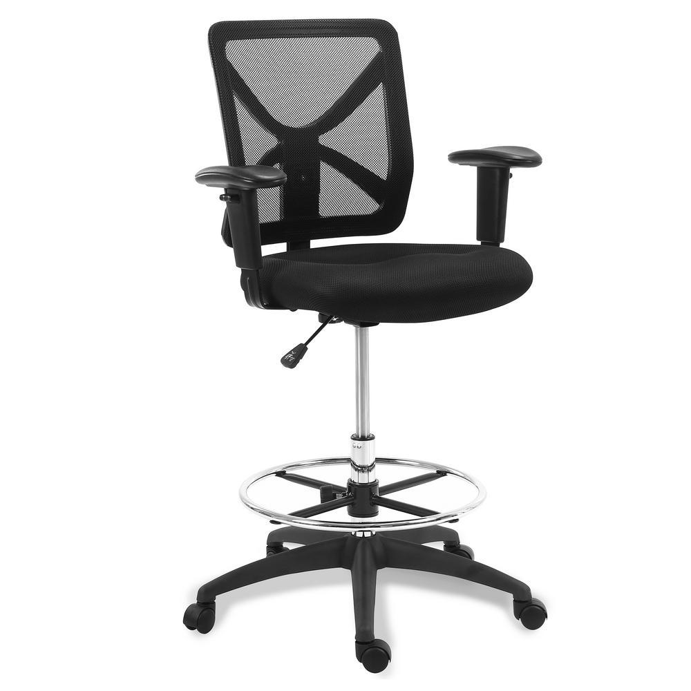 EDGEMOD Kiel Drafting Chair Black was $287.1 now $172.26 (40.0% off)