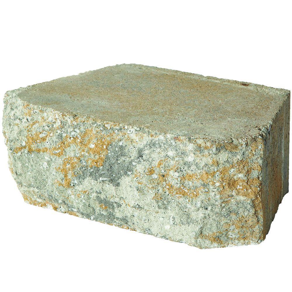 Pavestone 11.75 in.x 6.75 in.x 4 in. Yukon Concrete Retaining Wall Block