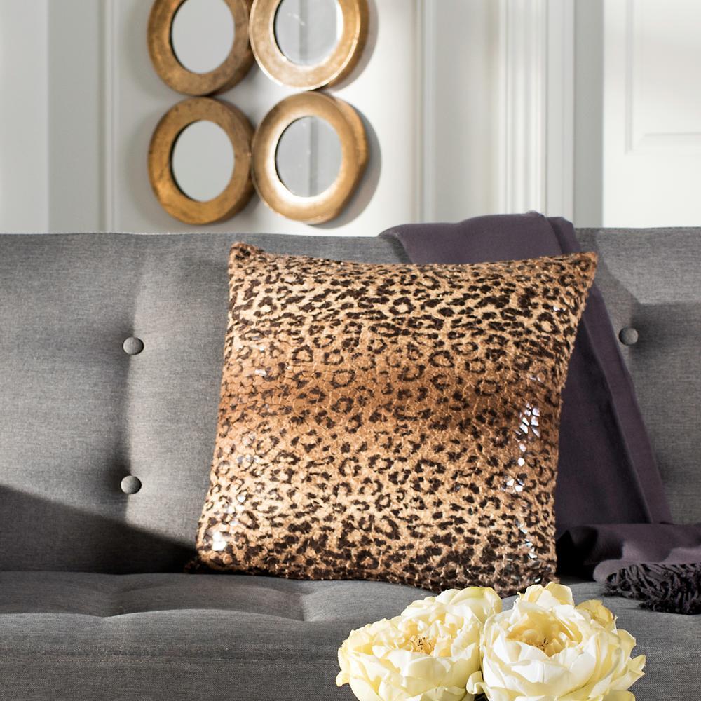 Zuma Cheetah Standard Pillow