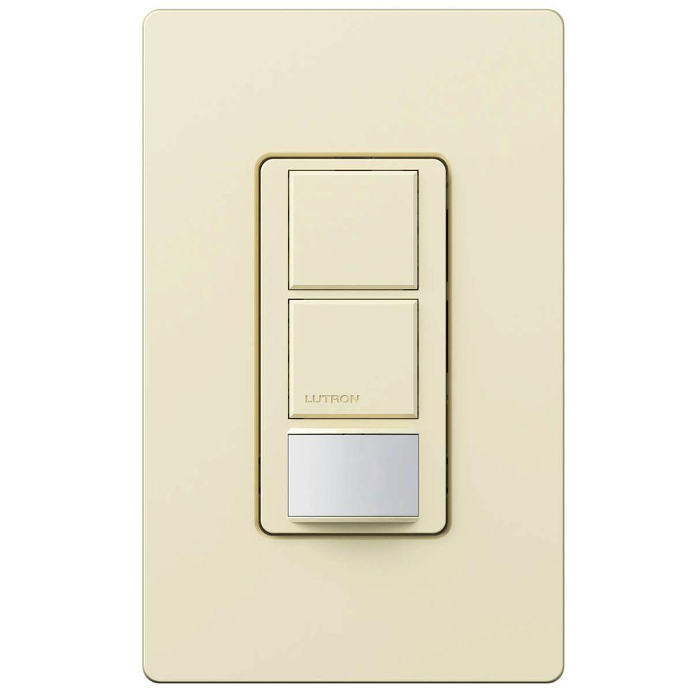 Lutron Maestro Dual Circuit Motion Sensor Switch 6 Amp Single Pole Rain Detector Using Relay Simple Touch This Review Is Frommaestro Almond