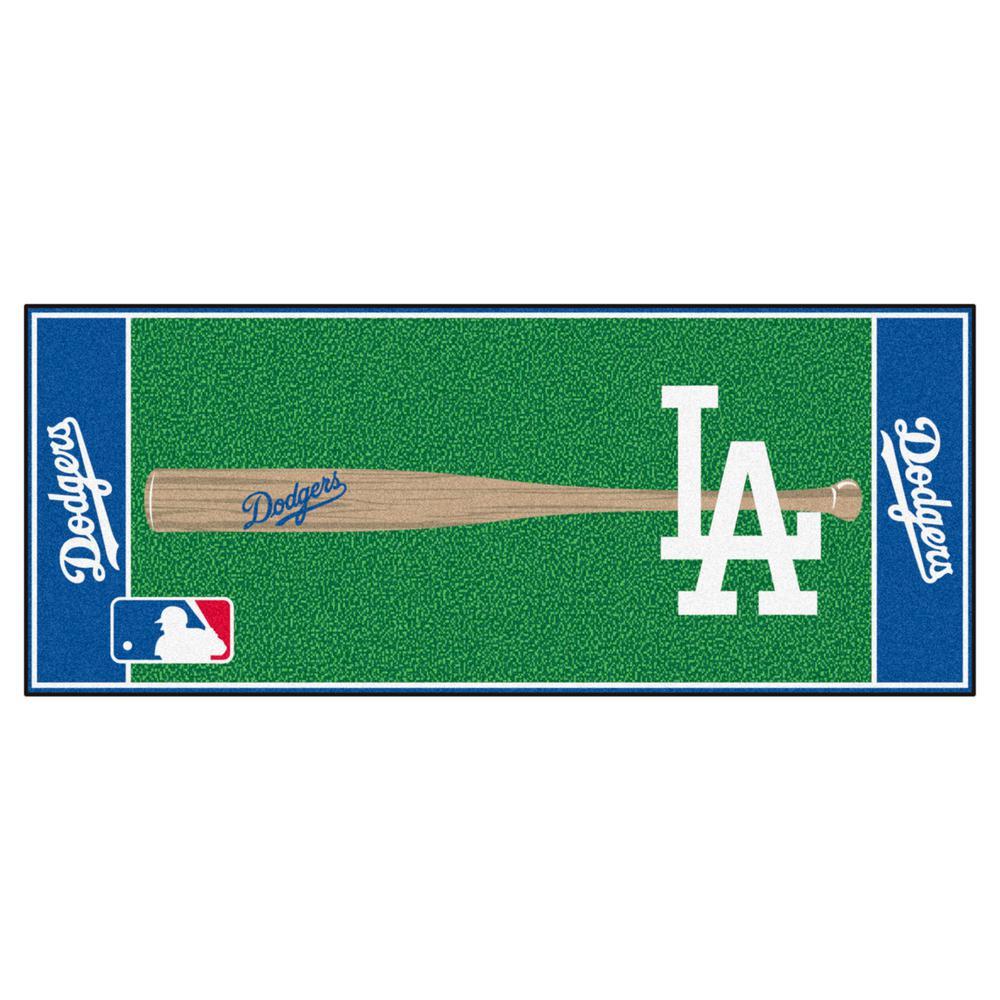 e775a14b959 FANMATS Los Angeles Dodgers 3 ft. x 6 ft. Baseball Runner Rug-11081 ...