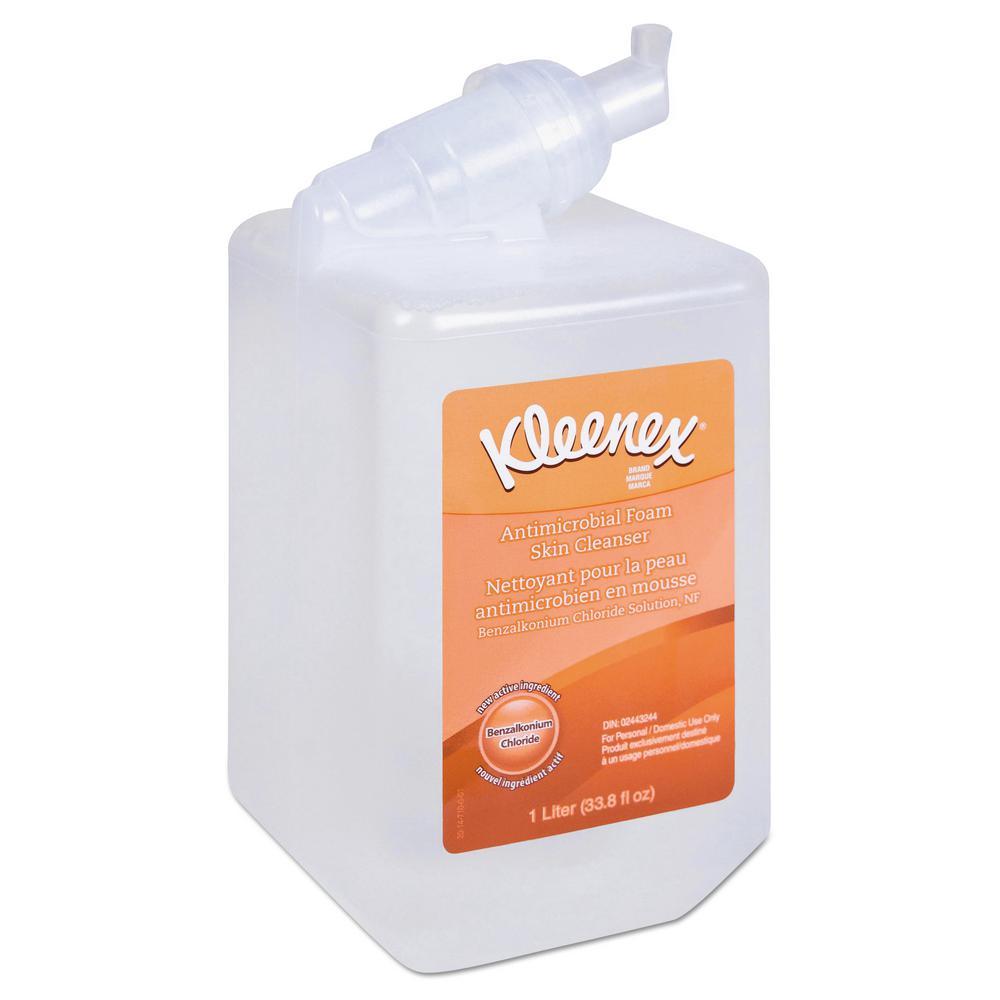 Kleenex Antibacterial Hand Cleanser, Fresh, 1000mL Bottle