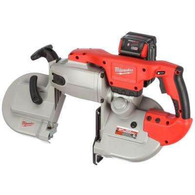 M28 28-Volt Lithium-Ion Cordless Band Saw Kit w/(1) 3.0Ah Battery, Charger, Hard Case