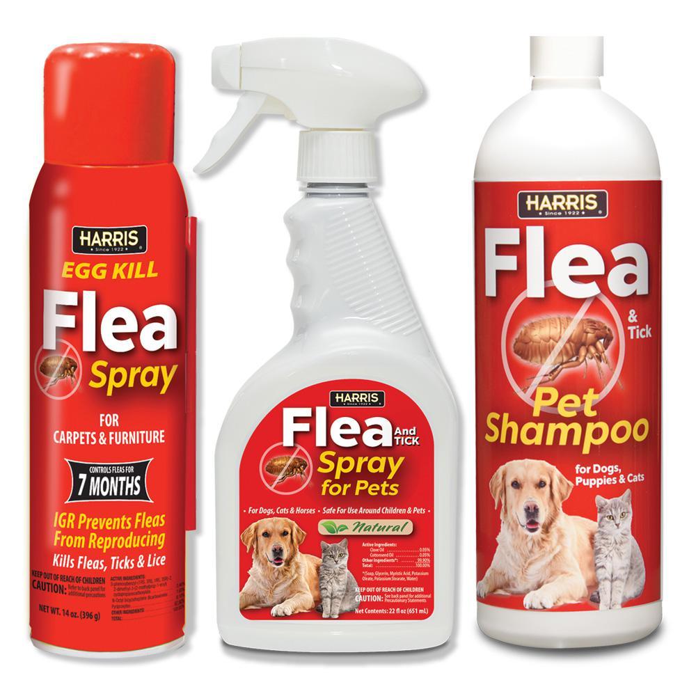 Harris Flea And Tick Home And Pet Kit