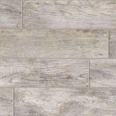 Montagna Dapple Gray 6 In X 24 Porcelain Floor And Wall Tile
