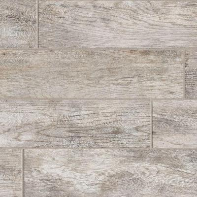 Montagna Dapple Gray 6 in. x 24 in. Porcelain Floor and Wall Tile (392.31 sq. ft./Pallet)