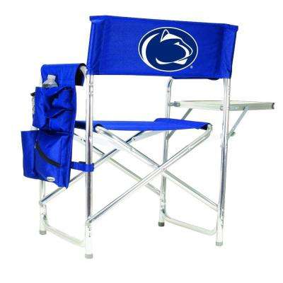 Penn State University Navy Sports Chair with Digital Logo