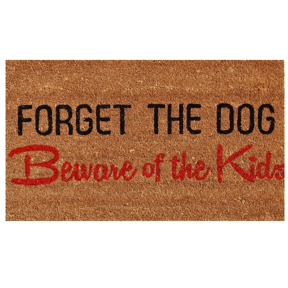 Home U0026 More Forget The Dog Door Mat 17 In. X 29 ...