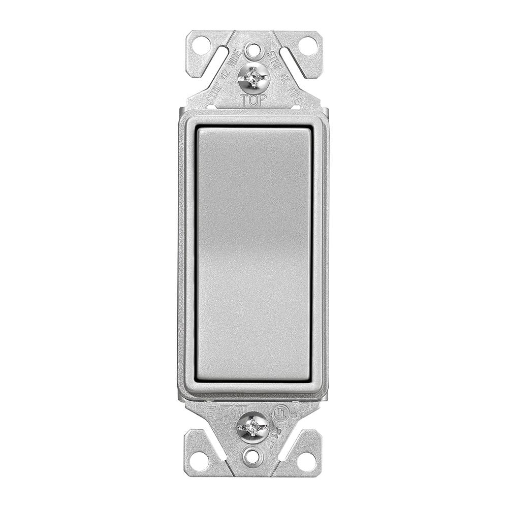 Eaton Designer 3-Way Switch in Silver Granite-7503SG-K-L - The Home ...