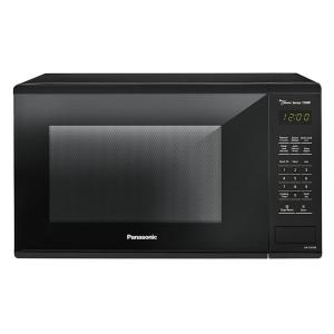 Panasonic 1 3 Cu Ft Countertop Microwave In Black With