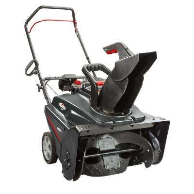 22 in. 208cc Single-Stage Electric Start Gas Snowthrower