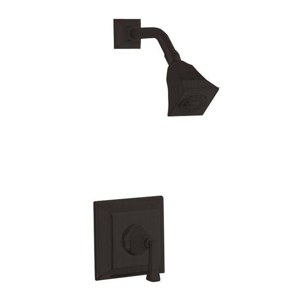 KOHLER Memoirs 1-Handle Shower Faucet Trim Kit in Oil-Rubbed ...