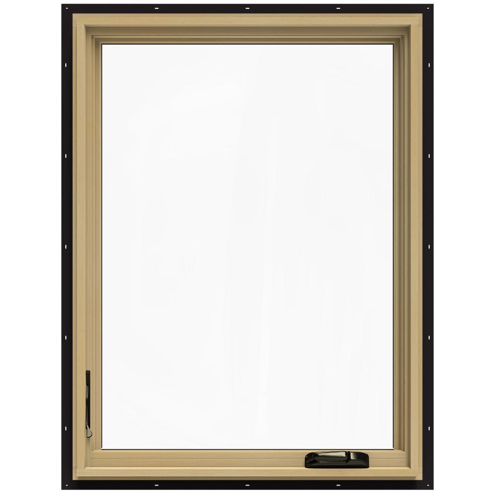 Jeld wen in x in w 2500 left hand casement for Casement window reviews