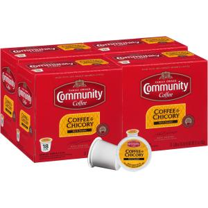 HomeDepot.com deals on 72-Ct Community Coffee and Chicory Medium-Dark Roast Cups