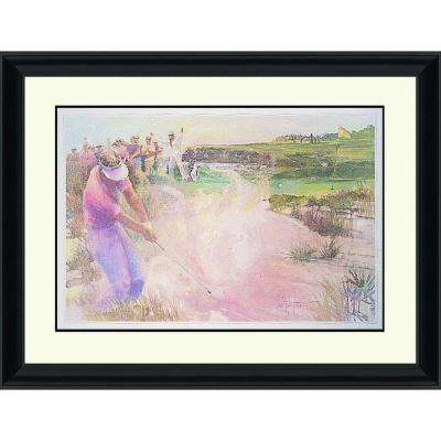 26.in x 32.in''The Sand Shot'' By PTM Images Framed Printed Wall Art
