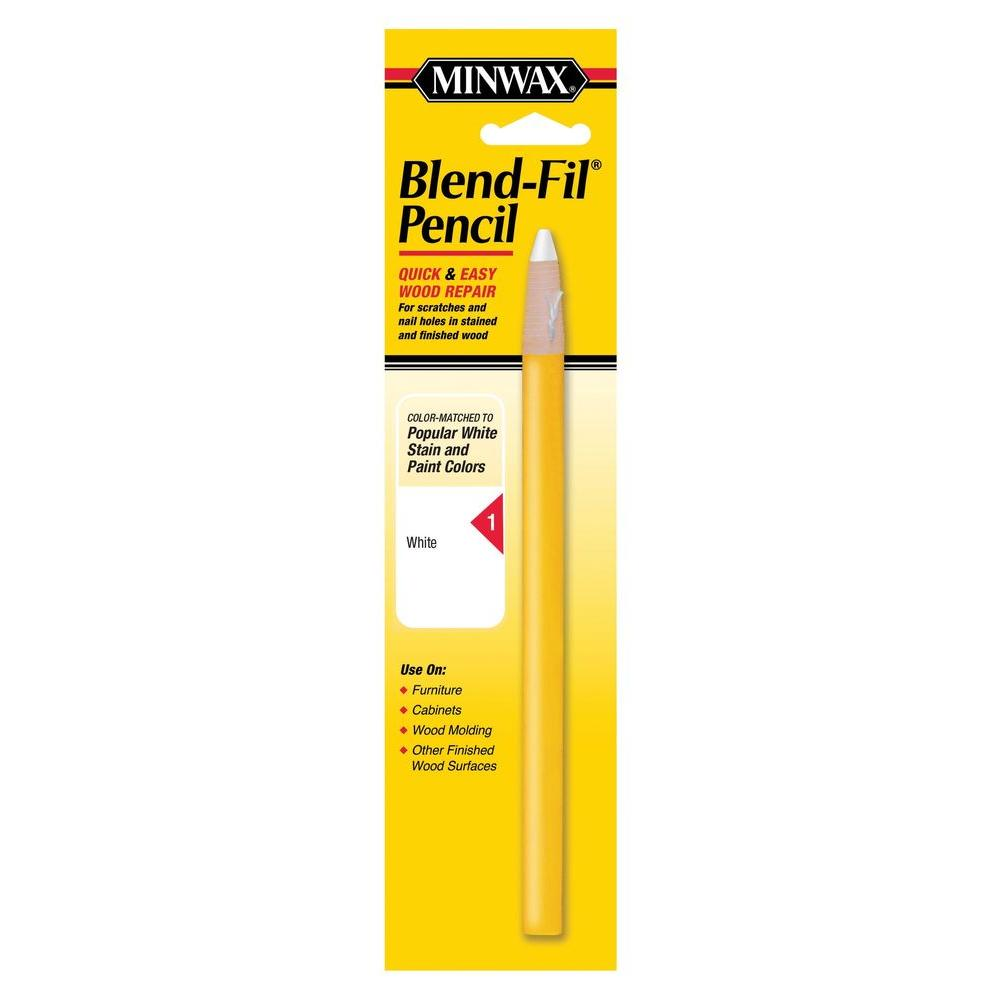 Minwax #1 Blend-Fil Pencil for White Stained Wood-11011 - The Home ...