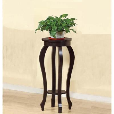 Stylish Medium Plant Table with 1 Round Shelf