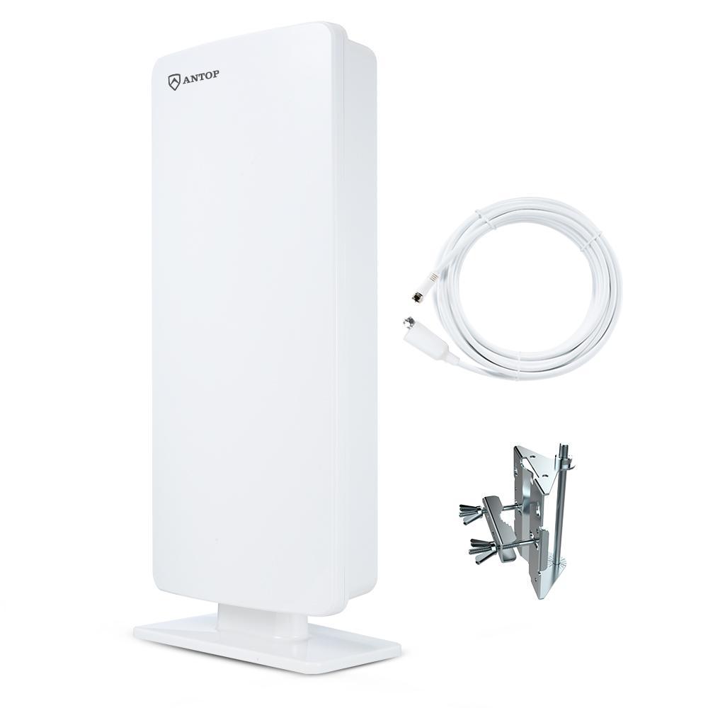 Rca Atticoutdoor Compact Design Hdtv Antenna Ant705e The Home Depot
