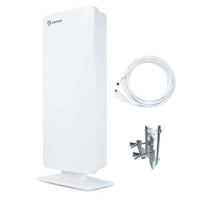 Flat-Panel Outdoor Indoor HD Multi-Directional HDTV Digital TV Antenna with High Gain