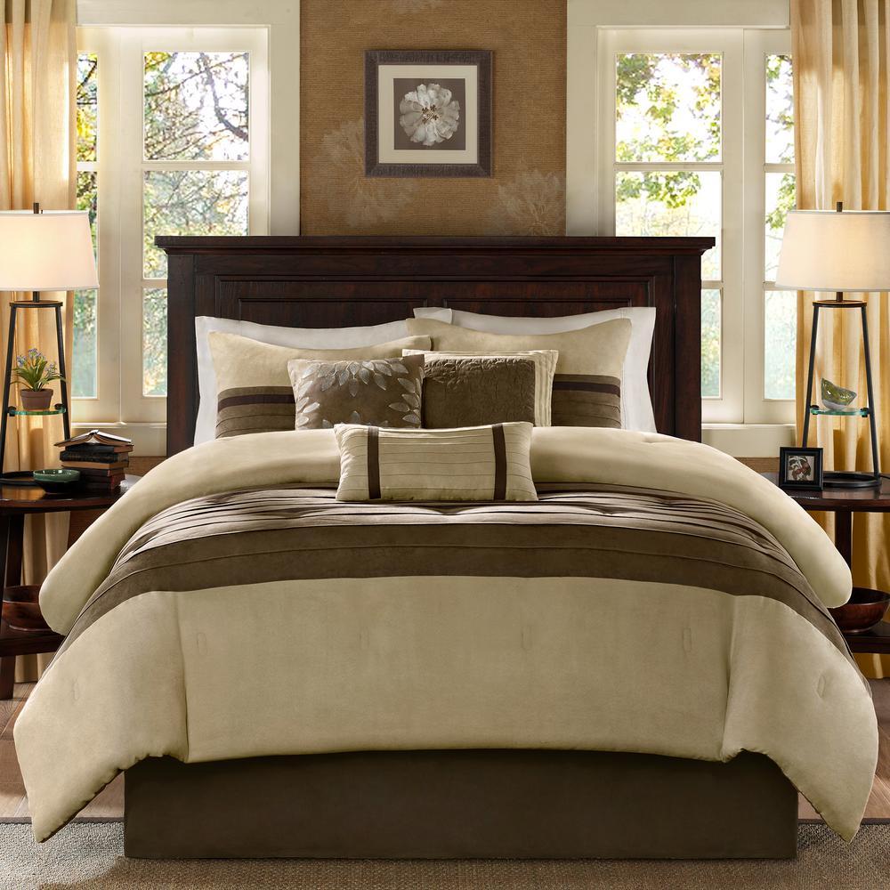 Teagan 7-Piece Natural California King Comforter Set