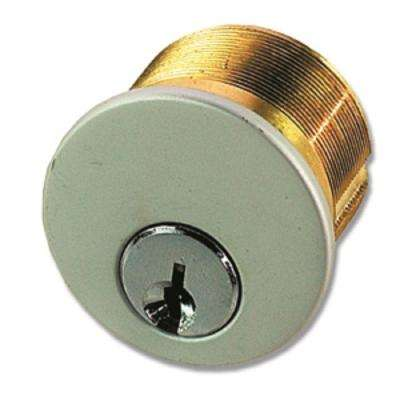 1 in. Aluminum Diecast Mortise Cylinder with Arrow Keyway