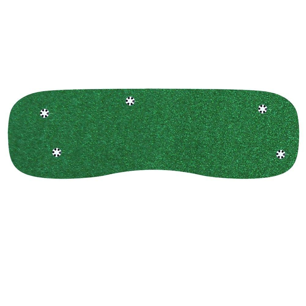 StarPro Greens 4 ft. x 12 ft. Indoor/Outdoor Synthetic Turf 5-Hole Practice Putting Golf Green