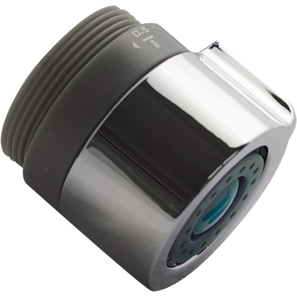 Trimax Dual Thread Adjustable Flow Rate PCA Spray, Chrome