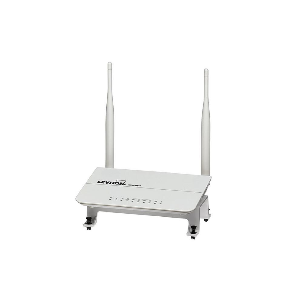 Wireless 802.11n Dual-Band Gigabit Router - Fits easily into Leviton Structured