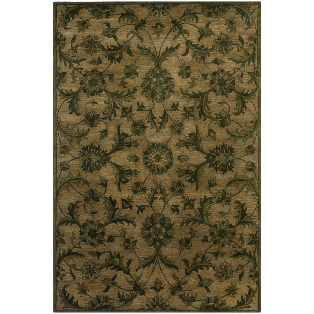 Safavieh Antiquity Olive Green 6 Ft X 9 Area Rug