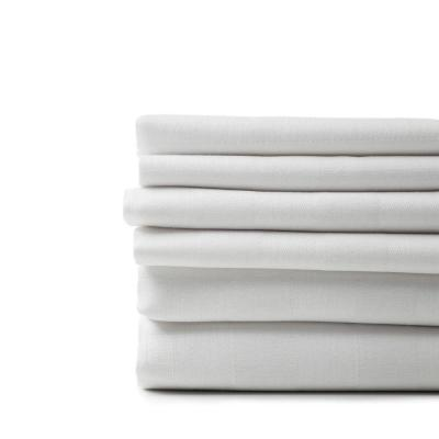 A1HC Organic Bed Sheet and Duvet Set Bundle, 6-Piece White 100% Organic Cotton, King Duvet+Sheet Sets