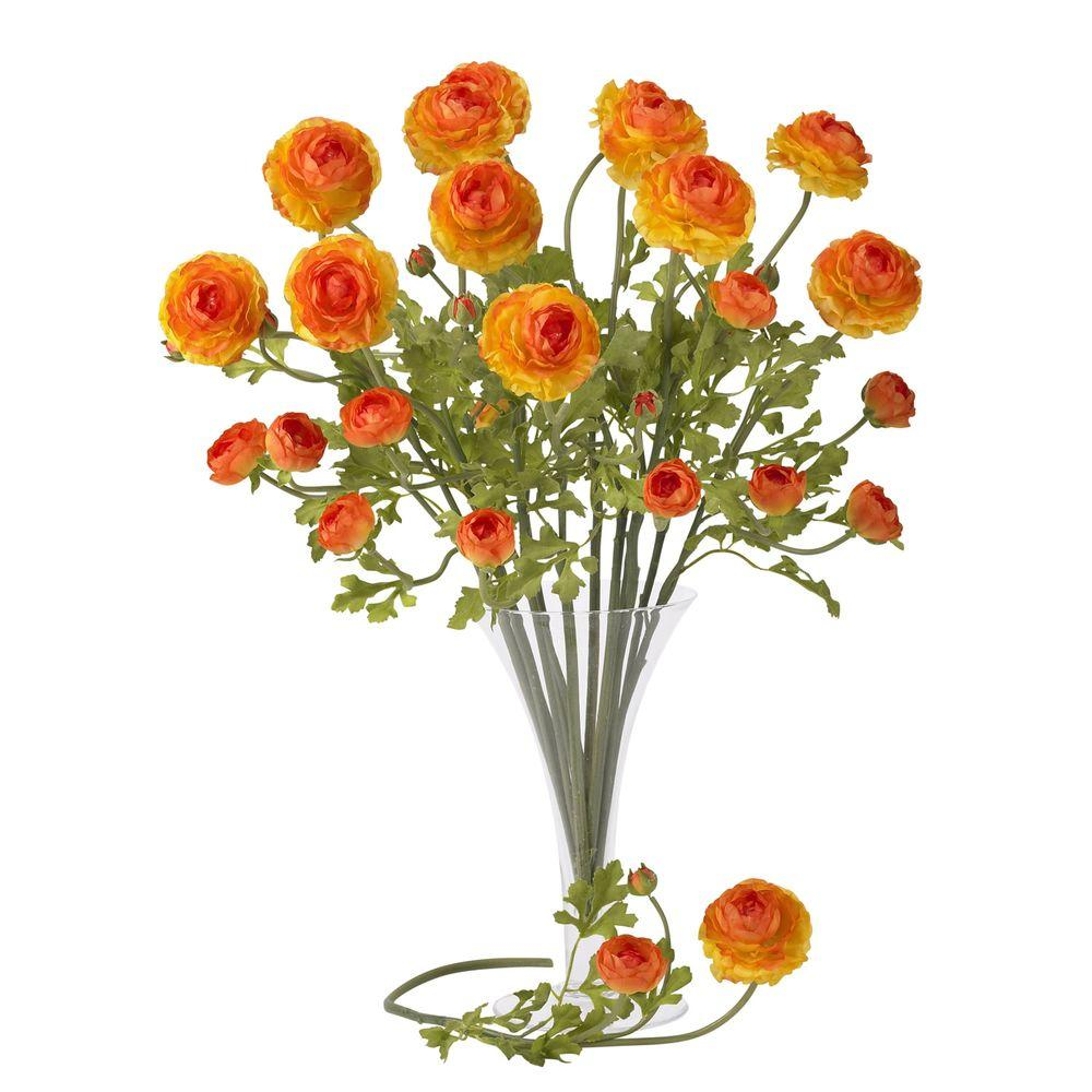 null 23 in. H Orchid Ranunculus Stem (Set of 12)