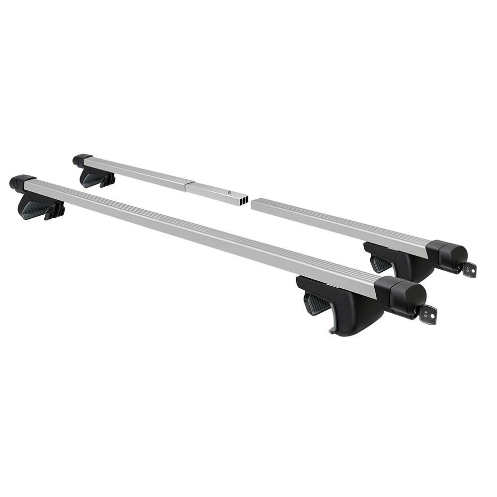 Square Car Roof Raised Rail Crossbar Cross Bar Rack  53″ long
