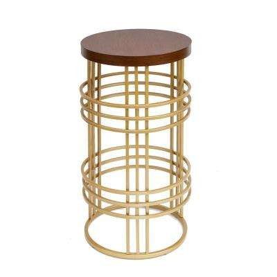 Rochelle Gold End Table
