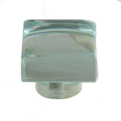 1-3/16 in. Modern Square Mirror Glass Cabinet Drawer Knob (10-Pack)