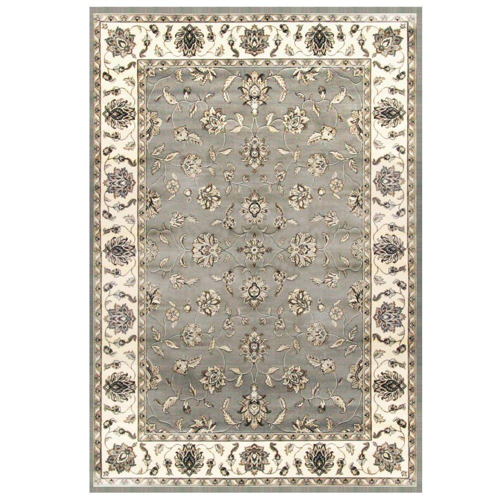 Sams International Sonoma Avers Grey 7 ft. 9 in. x 10 ft. 8 in. Area Rug