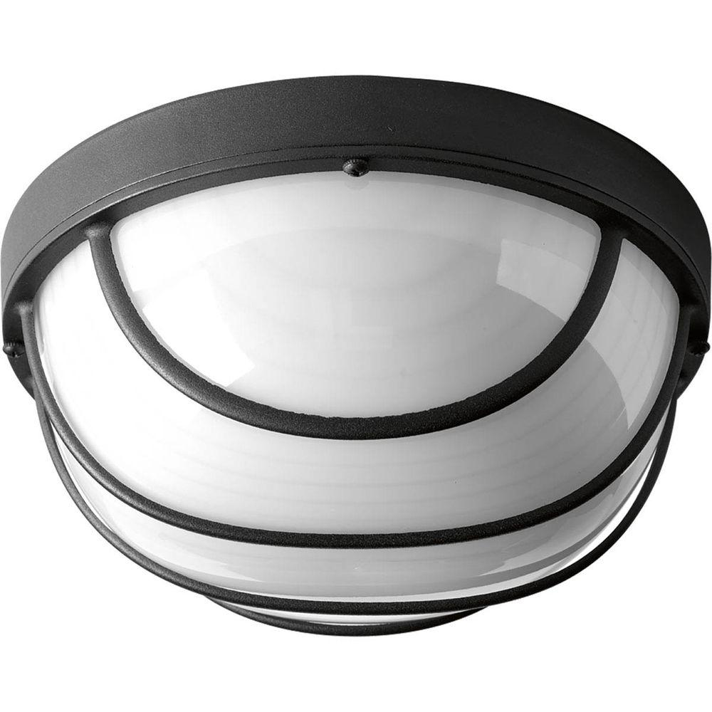 Progress Lighting 1 Light Black LED Bulkhead P3650 3130K9