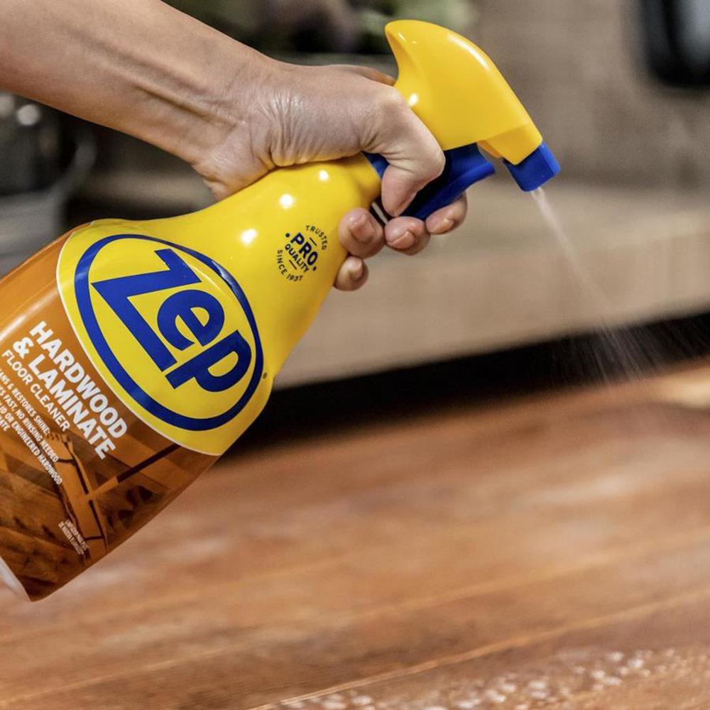Zep 32 Oz Hardwood And Laminate Floor Cleaner Zuhlf32 The Home