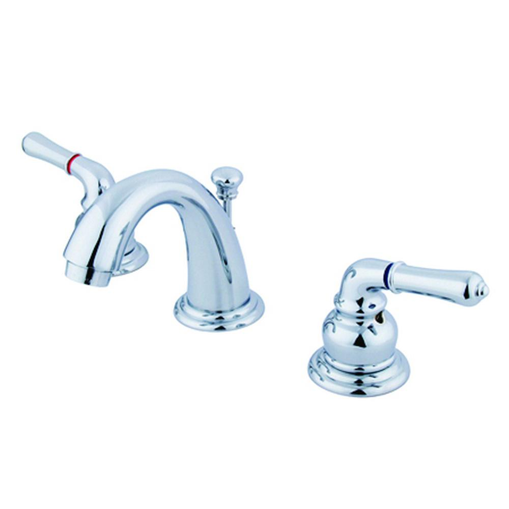 Kingston Brass Brimfield 4 in. Minispread 2-Handle Bathroom Faucet ...