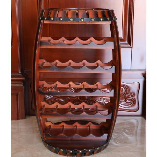 Best Choice Products 23-Bottle Metal Wine Rack Stand Black