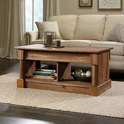 Oak - Accent Tables - Living Room Furniture - The Home Depot