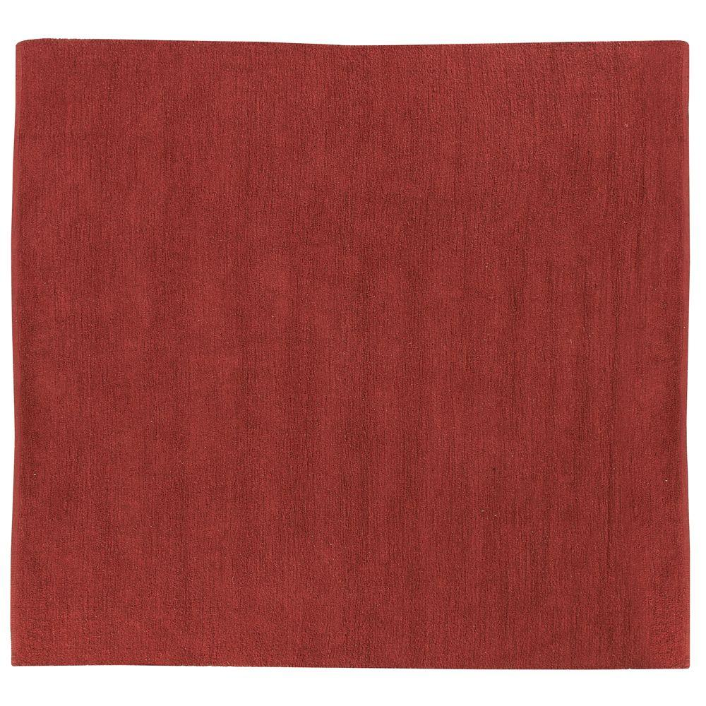 Home Decorators Collection Royale Chenille Clay 8 ft. Square Area Rug