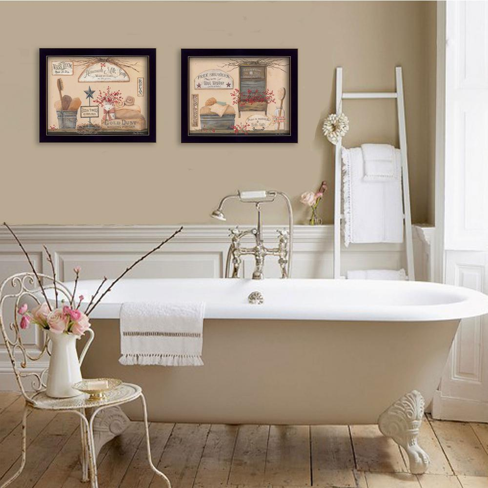 trendydecor4u 14 in x 18 in wash room collection by