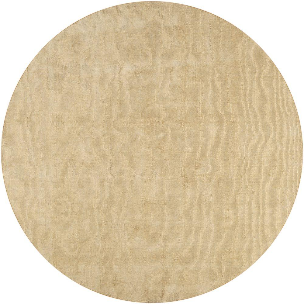 artistic weavers falmouth tan 10 ft x 10 ft round indoor area rug s00151020266 the home depot. Black Bedroom Furniture Sets. Home Design Ideas