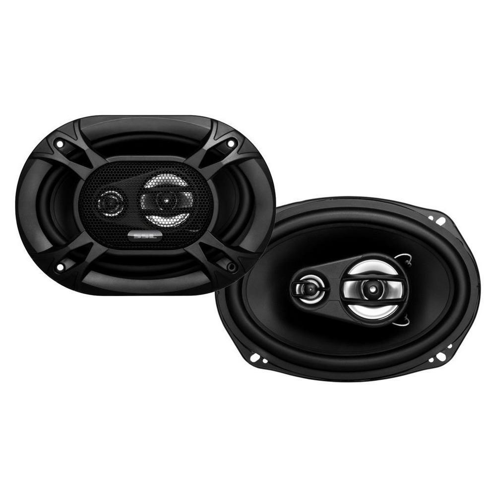 6 x 9 Inch Full Range 3 Way Car Speaker... Per Pair Sound Storm EX369 300 Watt