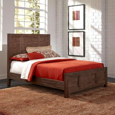 Barnside Aged Queen Bed Frame