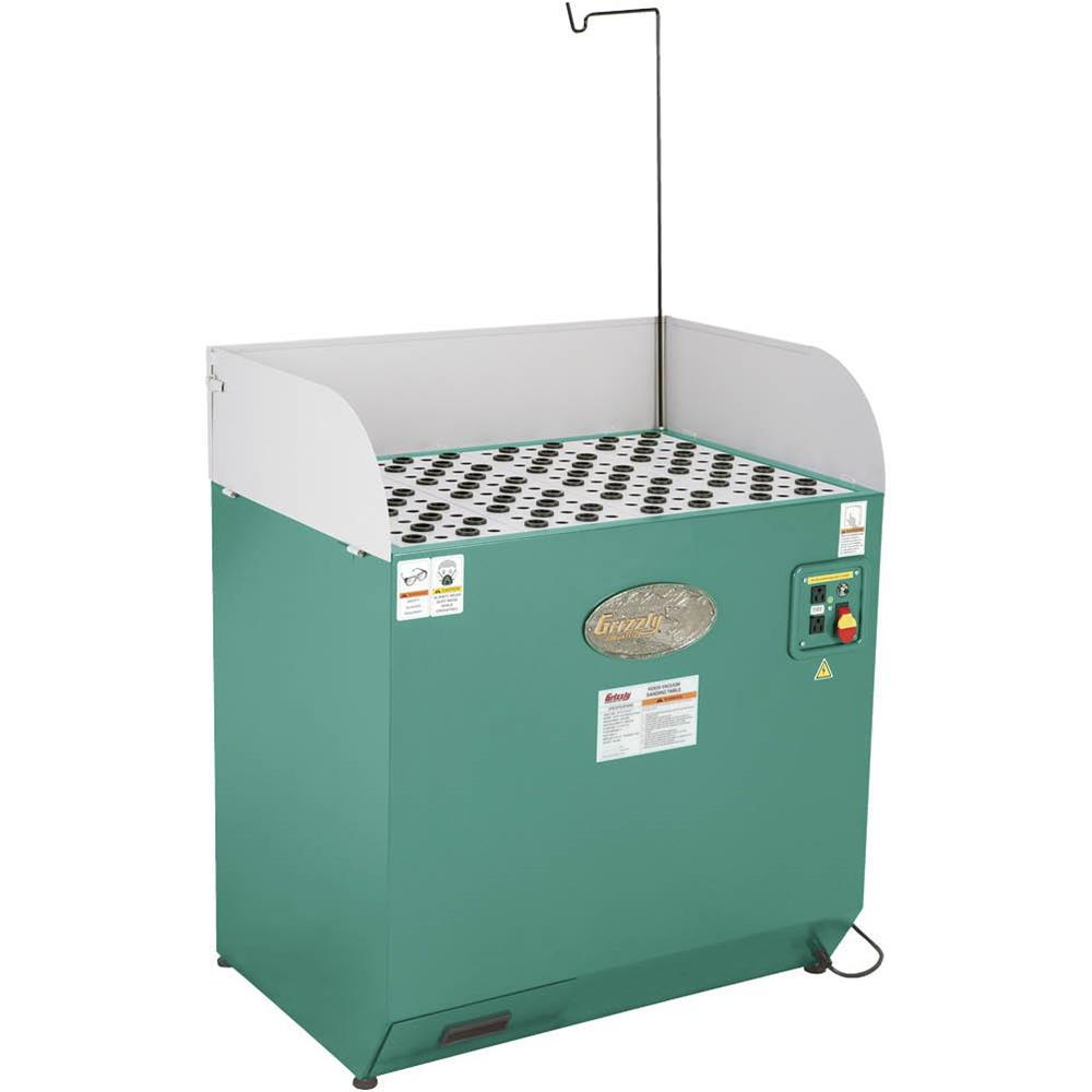 Grizzly Industrial 1 2 Hp 120 Volt Downdraft Table
