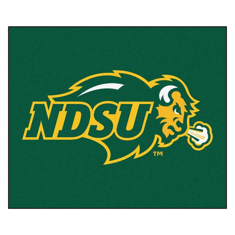 NCAA North Dakota State University Green 5 ft. x 6 ft. Area Rug